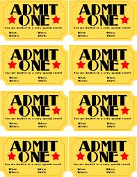 Movie Invitation Template Free Free Printable Movie Ticket Invitations Inspiration Movie Ticket 14