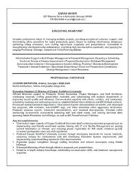 Sample Resume Administrative Assistant Resume Format For Executive ...