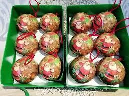 12 Grosse Weihnachtskugeln Kugel Christbaumschmuck Nostalgie