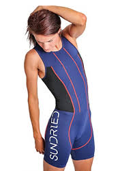 Roka Womens Viper Elite Swimskin Triathlon Compression Swim