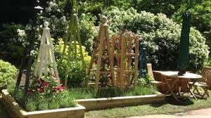 garden obelisk trellis. Obelisk Garden Image Of Flower Wood Trellis
