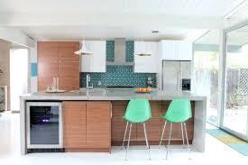 modern kitchen countertops mid century modern kitchen brick exposed wall narrow kitchen table chairs hardwood panels
