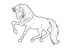 Free Wild Horse Coloring Pages Pages Wild Printable Coloring