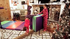Tumbl Trak Presents: Give the Gift of Gymnastics - Starter Home Gym -  YouTube