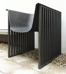 by cutting the tub in half we obtained two urban chairs each half was installed on two radox radiators
