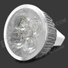 4w mr16 360lm 3500k warm white light 4 led cup bulb 12v