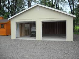 Wood Amish Built 2 Car Garage For Sale In Virginia And West Virginia2 Car Garages