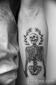 фото парень скелет тату 25032019 007 Guy Skeleton Tattoo