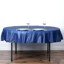 navy blue round tablecloth navy blue crushed design plastic round tablecloth navy blue tablecloth plastic