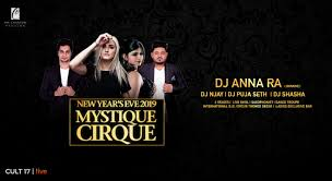 Book Tickets To New Years Eve 2019 Mystique Cirque