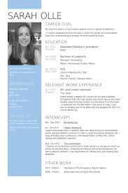 Columnist Resume Samples Visualcv Resume Samples Database