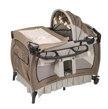 amazoncom  baby trend deluxe nursery center haven wood  baby
