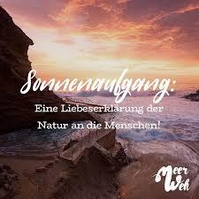 Sonnenaufgang Eine Liebeserklärung Der Natur An Die