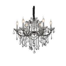 riley 6 light chrome chandelier