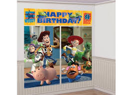 toy story wall decorating kit
