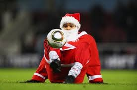 Image result for santa soccer