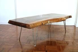 hairpin leg coffee table mid century modern walnut coffee table with hairpin legs for hairpin leg hairpin leg coffee table