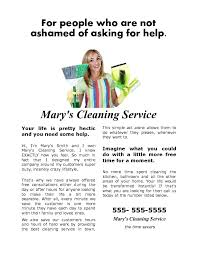how to write a house cleaning ad building a house cleaning flyer that gets results cleaning 4 profit
