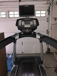 image is loading used mercial life fitness 95t inspire treadmill