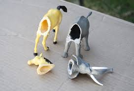 diy mounted toy animal heads