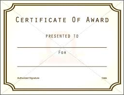Appreciation Prize Certificate Template 1st Award Templates Bindext Co