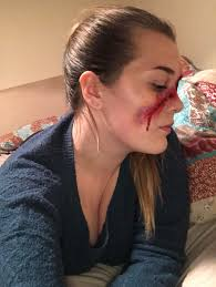 yes i know the rules about selfies but what do you think of my gore makeup any tips