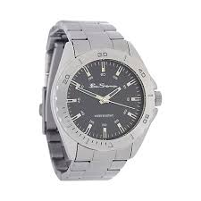 ben sherman watches men debenhams ben sherman men s silver stainless steel bracelet watch r959