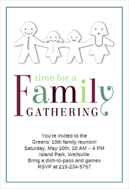 Printable Family Reunion Invitations Family Gathering Invitation Magdalene Project Org