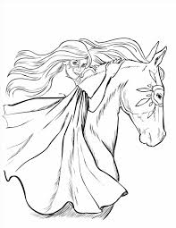 Small Picture Printable Wild Coloring Pictures Of Horses Horses Coloring Pages