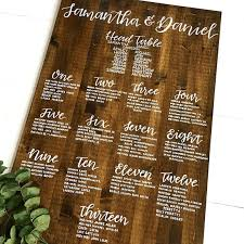 18 Wedding Seating Chart Designs And Examples Psd Ai