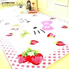 childrens pink rug