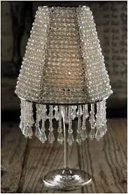 lamp shade candle the majestic crystal wine glass lampshade 12