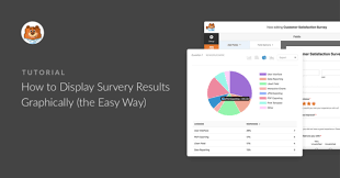How To Display Survey Results Graphically The Easy Way