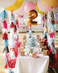 Deco D Anniversaire Table Petit Enfant Deux Ans Celebration | Déco ...