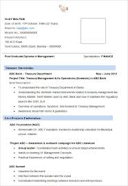 mba finance resume examples. Download resume template