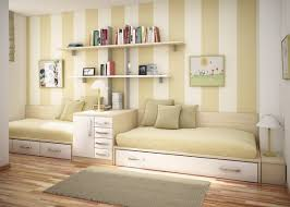 Striped Bedroom Paint Bedroom Mesmerizing Cream Striped Wall Paint Ideas For Tween