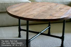 coffee table round rustic coffee tables diy rustic wood end within rustic round coffee table