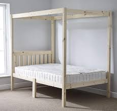Winning 4 Poster Canopy Bed Curtains Aus Queen King Boy Ideas Sets ...