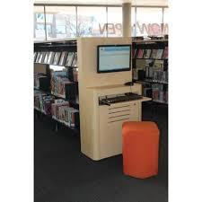 library shelving end panels opac units