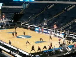 Bridgestone Arena Seating Chart Basketball Bridgestone Arena Section 108 Row Q Seat 1 Shared By