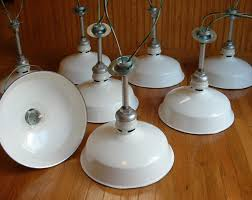 old industrial lighting. From The Porcelain Enameling Process Pictured Below. These Are Smooth To Touch And Not Chips. A Wonderful Characteristic Of Old Industrial Lighting. Lighting R