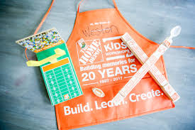 so glad you asked it is a free yep totally free said the magic word folks and local work in the home depot s across the country that kids can