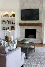 Gray Brick Fireplace Best 25 Brick Fireplace Remodel Ideas On Pinterest Brick