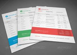 invoice template design 37 best psd invoice templates for freelancer web graphic design
