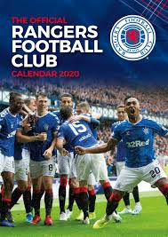 Rangers Share Price Chart Glasgow Rangers Fc 2020 Calendar Official A3 Month To View