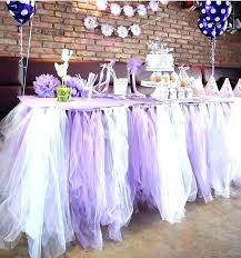tulle decorating