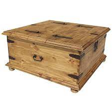 rustic trunk coffee tables