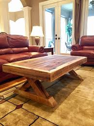 reclaimed rustic barn wood coffee table