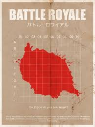 best battle royale images battle battle royal  mini st movie poster battle royale by pongelektro