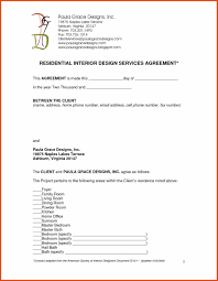 Free Interior Design Contract Template Interior Design Client Brief Template Google Search